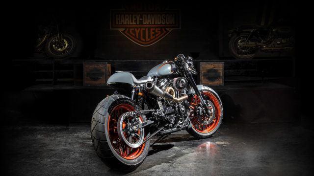 Bombtrack Harley-Davidson custom-Harrikka