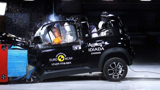 Euro NCAP Citroën e-Mehari