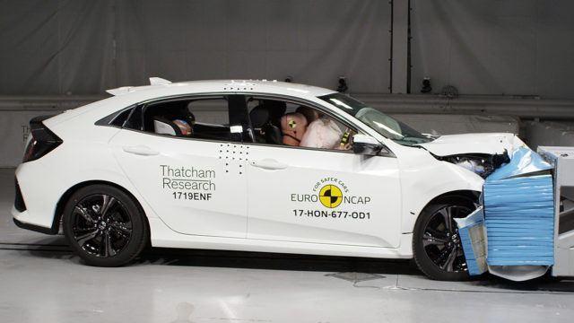 Euro NCAP Honda Civic