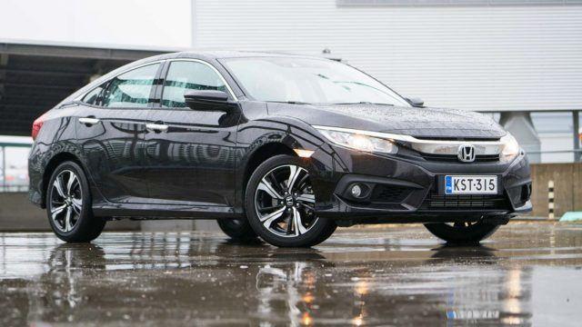 Koeajo: konservatiivisempi ja kauniimpi – Honda Civic 4D
