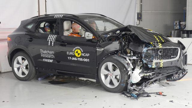 Euro NCAP Jaguar E-Pace