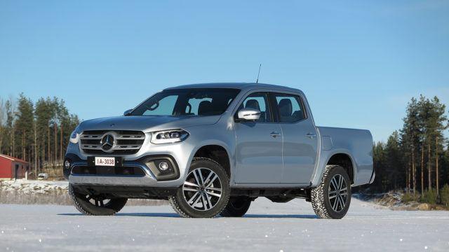 Koeajo: Vähän fiinimpi avolava – Mercedes-Benz X