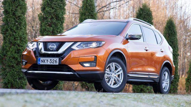 Koeajo: perusjutut päivityksessä – Nissan X-Trail