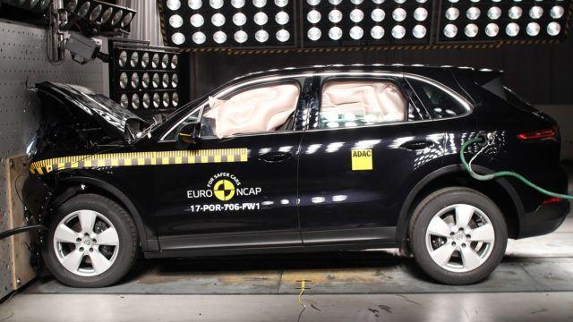 Euro NCAP Porsche Cayenne