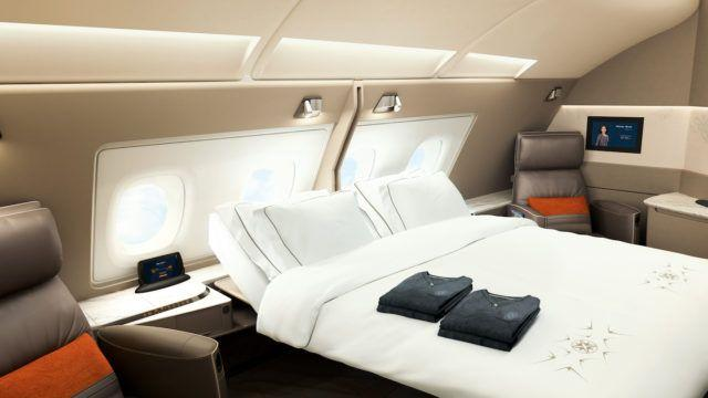 Lentomatkusta sviitissä Singapore Airlines A380 First Class Suite