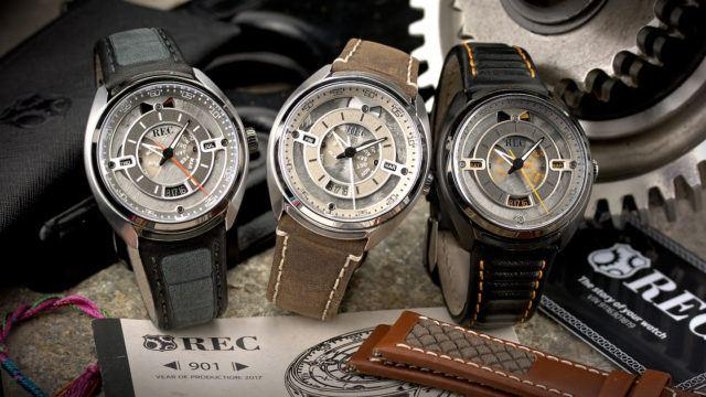 REC Watches muuntaa Mustangit ja Minit kelloiksi