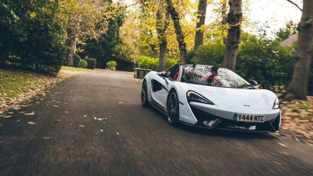 McLaren valkoinen Muriwai White