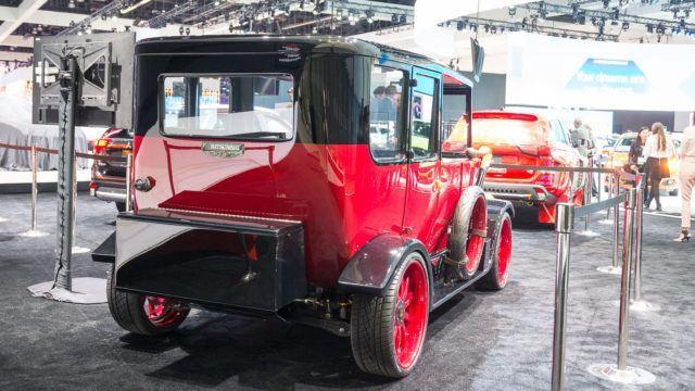 LA Auto Show Mitsubishi Model A