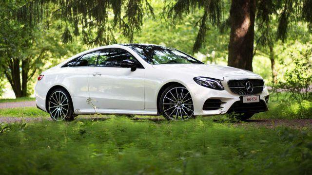 Koeajo: nautinnon numeroleikki – Mercedes-Benz E 400 Coupé