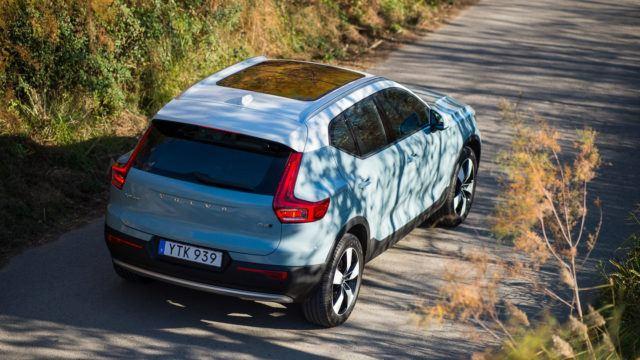 Volvo XC40 katumaasturi
