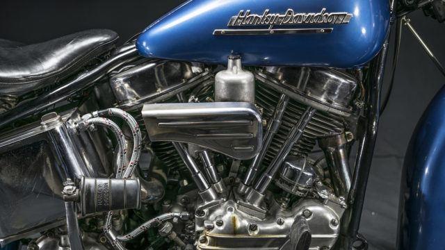Cisse Häkkisen Harley-Davidson 1952