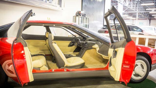 Citroen Activa -konseptiauton sisätilat