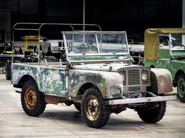 Land Rover Entisöinti
