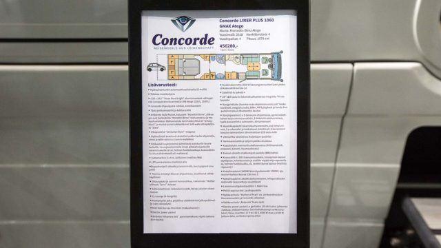 Concorde Liner 1060