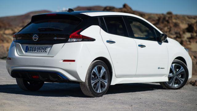 uusi Nissan Leaf