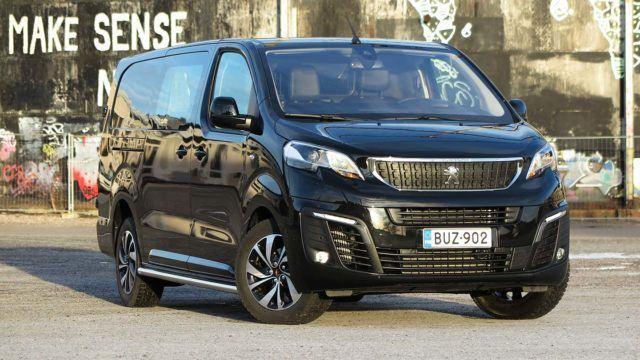 Koeajo: Pullakuskin unelma - Peugeot Expert XL BlueHDI 180A