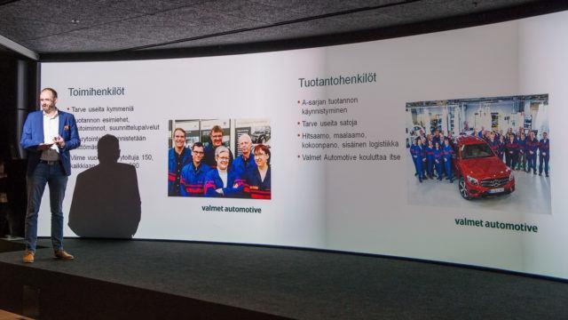 Valmet Automotive rekrytoi 1000 Uudenkaupungin autotehdas 2018 #autotehtaansankarit