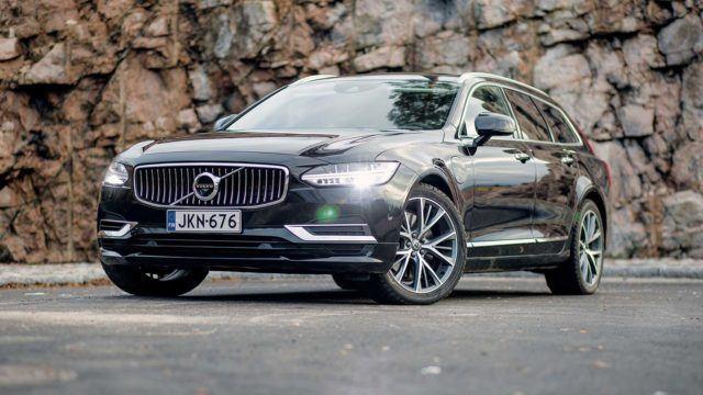 Koeajo: edustustason kyydit – Volvo V90 T8