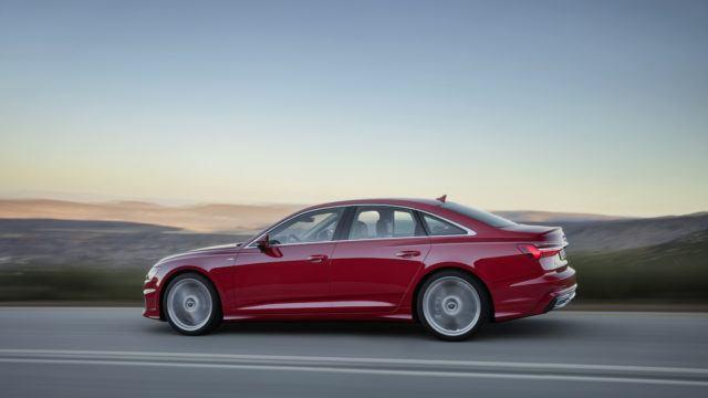 Uusi Audi A6 sedan
