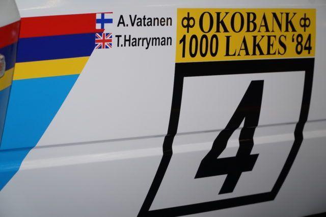 ACS: Onko tämä Ari Vatasen Peugeot Turbo 16, Jyskälän voittoauto 1984?