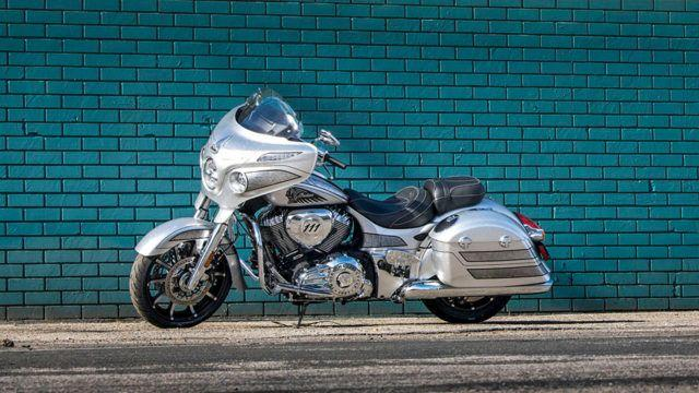 Indian Chieftain Elite Black Hills Silver
