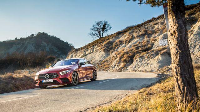 Koeajo: Mercedes-Benz CLS – yksi auto, kaksi tähteä