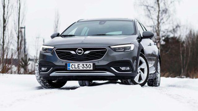 Koeajo: kovaa ja korkealta – Opel Insignia Country Tourer