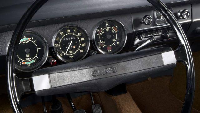 Saab 99 mittaristo