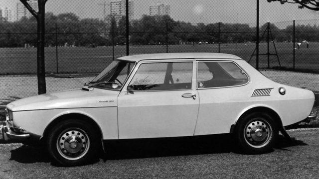 Saab 99 kylki