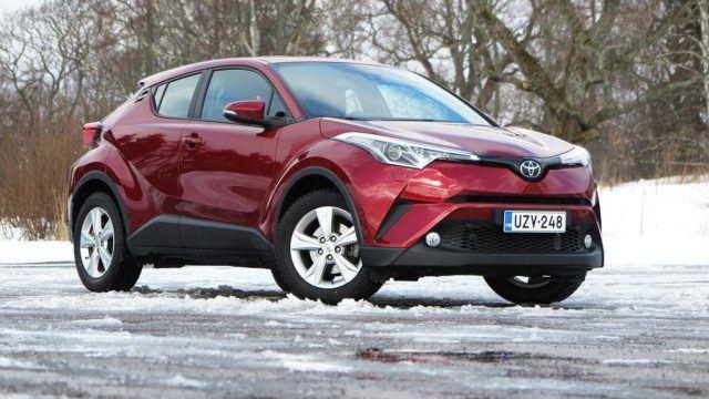 Koeajo: näyttävästi muotoiltu – Toyota C-HR