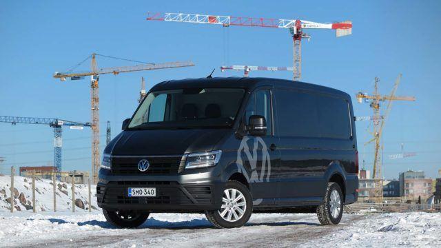 Koeajo: etuveto ensin – Volkswagen Crafter
