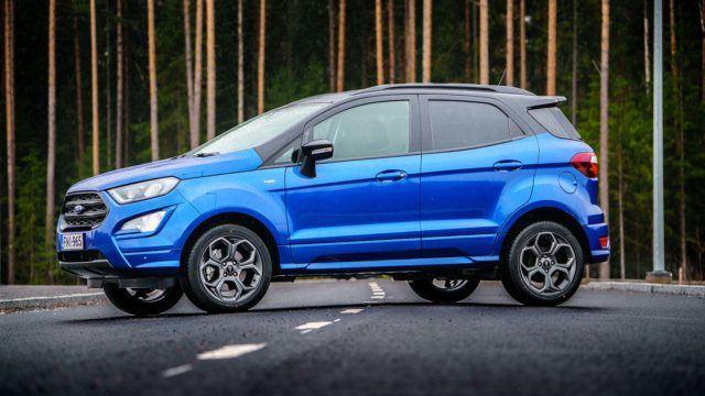Koeajo: mainettaan parempi – Ford Ecosport ST-Line