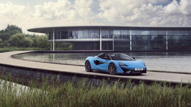 15000 McLarenia seitsemässä vuodessa