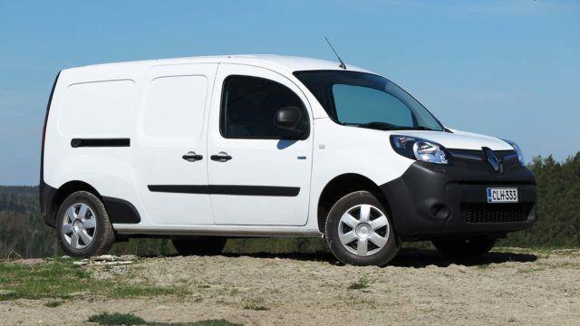 Koeajo: sähkökaappi – Renault Kangoo Z.E. Power+ Maxi