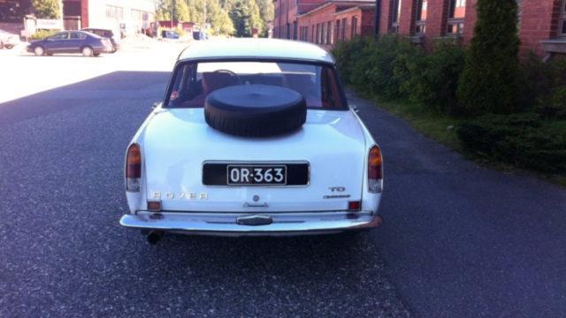 Tori.fi Rover 2000 TC vararengas