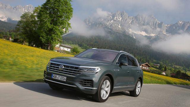 Koeajo: Volkswagen Touareg – Arvokkaammin eteenpäin