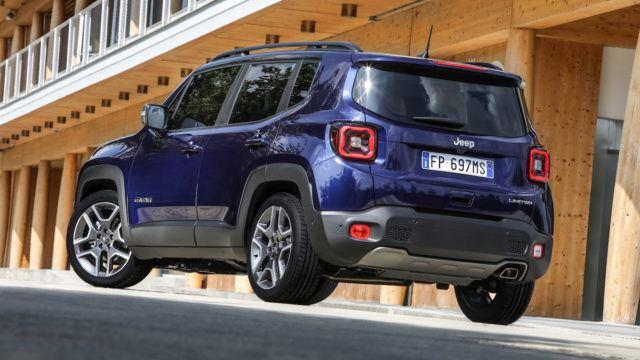 Jeep Renegade facelift 2018