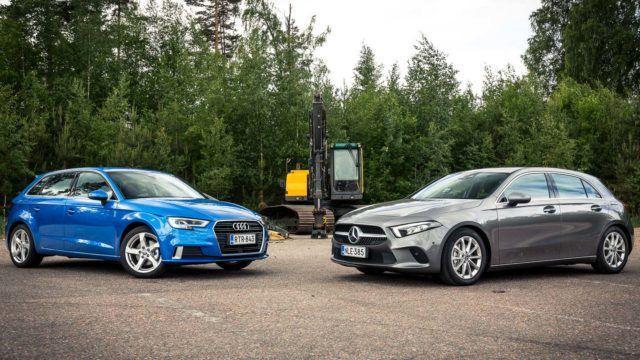 Parivertailu: miten Audi A3 ja Mercedes-Benz A kiihtyvät?