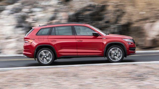 Koeajo: Škoda Kodiaq SportLine – tilamaasturin urheiluversio
