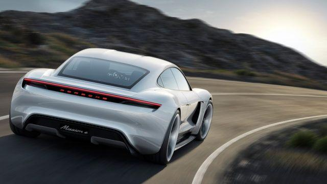 Mission E on nyt Porsche Taycan