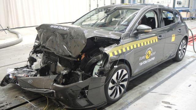 Euro NCAP Volvo XC40 Ford Focus