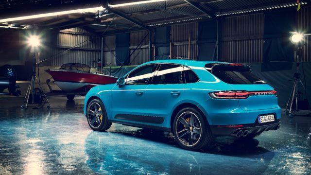 uudistunut Porsche Macan