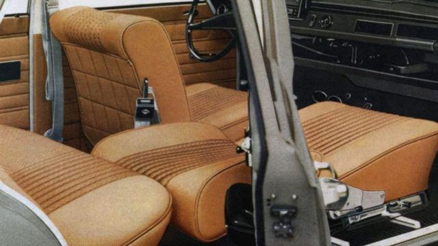 Wartburg 353 Limousine sisätilat