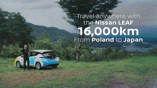 53 latausta myöhemmin: Puolasta Japaniin uudella Nissan Leafilla