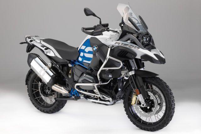 BMW:n seikkailupyöriin isommat moottorit