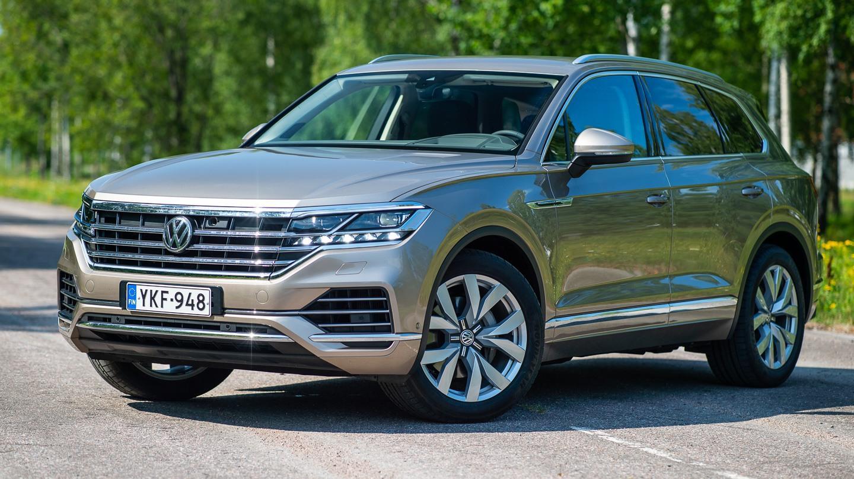 Vw Touareg 2018 >> Koeajo Lippulaiva Vasten Tahtoaan Volkswagen Touareg 3 0