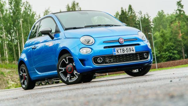 Koeajo: ilopilleri Italiasta – Fiat 500S Cabrio Twinair