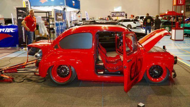 Fiat 600 – dragster mutta ei kiihdytysauto