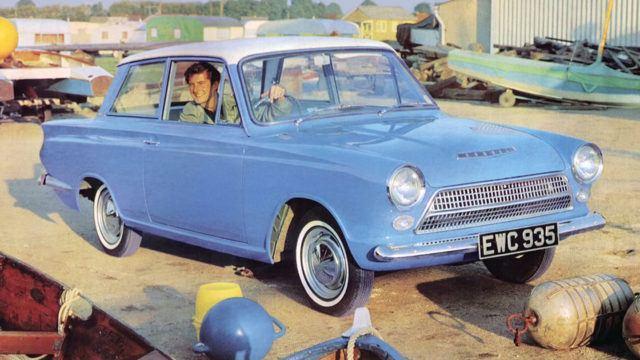 Ford Consul / Cortina 2-door