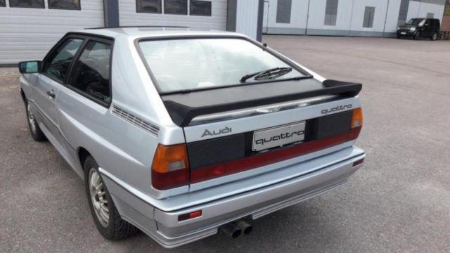 Audi Quattro takavasen - Tori.fi